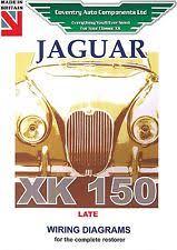 wiring diagram jaguar jaguar xk150 late model exploded wiring diagram book 9189