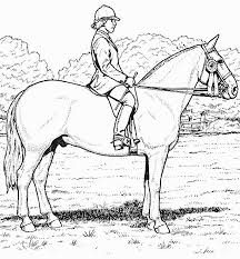 Small Picture Realistic Horse Coloring Pages To Print Coloring Home Coloring
