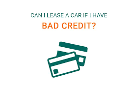 lease a car with bad credit