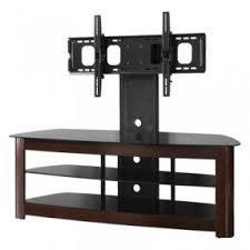 wood tv stand with mount. espresso tv stand with removable mount, fits upto 65 tv wood mount 0