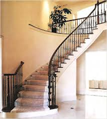 Wrought Iron Stair Handrail Design Ideas