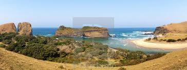 Panoramic of the coastal rock formation known as Hole in the Wall along the  wild coast in South Africa's Eastern Cape Province. - License, download or  print for £31.00 | Photos | Picfair