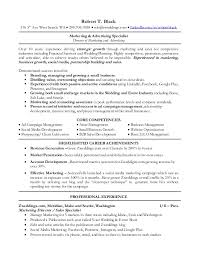 Advertising Sales Resume Stunning R Black Resume Marketing And Sales