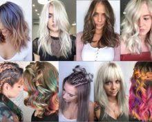 účesy Pro Polodlouhé Vlasy 2019