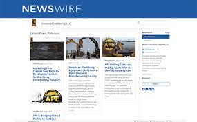 Press Release Client Announcement Construct Marketing