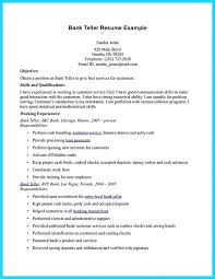 Entry Level Bank Teller Resume No Experience For Position Sample Yomm