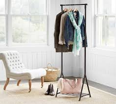 Coat Racks Standing Mesmerizing Standing Coat Rack Pottery Barn