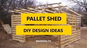 45 best pallet shed diy design ideas 2017