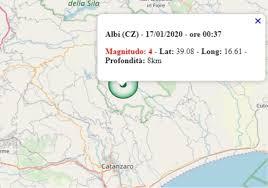 Terremoto in Calabria oggi, 17 gennaio 2020, forte scossa M ...