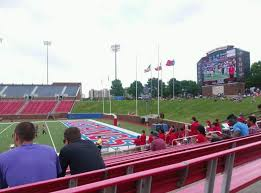 Gerald J Ford Stadium Section 101 Smu Mustangs Shared