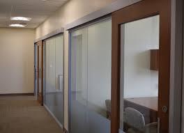 sliding office doors