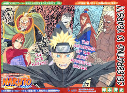 Small Picture Naruto Manga Color Pages Pictures 9643
