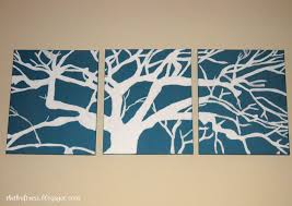 art modern architecture decorating ideas simple diy canvas wall