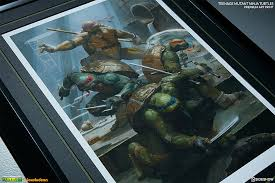 pictures of turtles to print.  Print Class Up Your Sewer Walls With Paolo Riverau0027s U0027Teenage Mutant Ninja Turtlesu0027  Print From Sideshow And Pictures Of Turtles To A