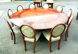 large round glass dining table furniture good looking seats