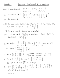 math homework assignment  matrix multiplication assignment 3