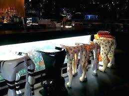 animal bar stool cafe cool themed stools print regarding95
