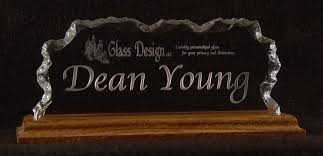 tall nameplate with logo dean font choices the tall name plates