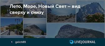 Лето, Море, Новый Свет – вид сверху и снизу: galich89 ...