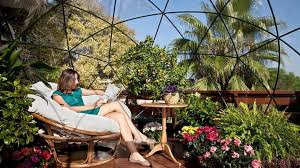 garden igloo. The Garden Igloo Is A Geodesic Dome For Your Lawn