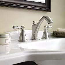 moen caldwell bathroom faucet spot resist brushed nickel 2 handle widespread bronze