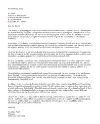 Intro To Recommendation Letter Sample Reference Letter For Student Magdalene Project Org