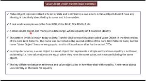 Dto Design Pattern In Java Value Object Design Pattern Pattern Design Design Pattern