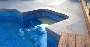 bluestone pool coping tiles modern drop edge bullnose custom made