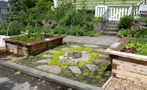 rock garden designs front yard