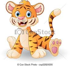 cute animated baby tigers. Plain Animated Cute Baby Tiger Cartoon  Csp32924300 And Animated Baby Tigers O