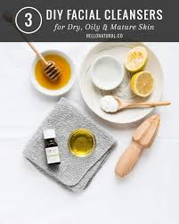3 diy cleanser for dry oily skin helloglow co