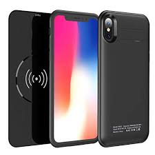 Amazon.com: <b>Qi Wireless</b> Charging Battery Case for iPhone X- 2 in ...