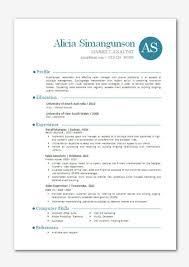 1000 sample modern resume