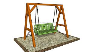 Diy Porch Swing Porch Swing Bench Plans Howtospecialist How To Build Step By