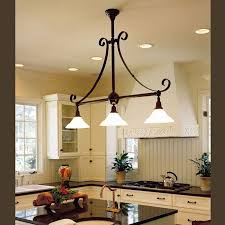 sland three light scroll chandelier with 2 1 4 in shade holders