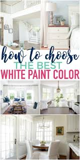 how to choose paint colorsHow to Choose the Best White Paint Color  The Turquoise Home