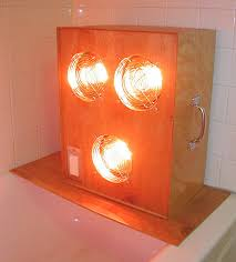 Infrared Bathroom Light How To Install Turbo Infrared Sauna Unit