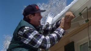 Clark Griswold Hanging Lights How To Put Up Christmas Lights The Easiest Ways Possible