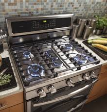 Oven Gas Stove Pgb980zejss Ge Profile 30 Freestanding Double Oven Gas Range