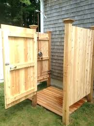 build an outdoor shower wood outdoor shower how to build an outdoor shower bathroom build an build an outdoor shower