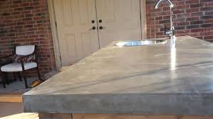 how to finish concrete countertops or doing the ever so popular feather