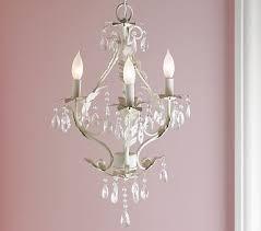 crystal chandelier girls room 4 arm white inside little girl