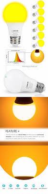 Amber Light For Sleep New Arrival A19 Led Amber Light Bulbs 60 Watt Equivalent 9w E26 Led Bulb For Home Lighting Decorative View Alibaba Best Sellers Lohas Led Product