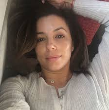 no makeup selfies on insram eva longoria