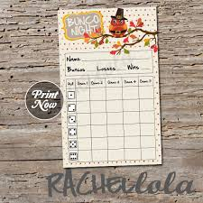 Bunco Score Sheets Template Interesting Thanksgiving Owl Bunco Score Card Score Sheet Fall Bunko Etsy