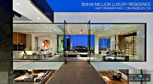 luxury interior design los angeles 29 95 million residence 1442 tanager way ca 2d
