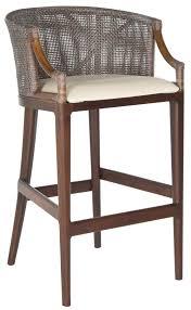 Rattan Kitchen Furniture Wicker Stools Kitchen Bar Stools