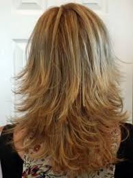 Medium Layered Haircuts Back View Highlights Hair