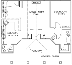 guest house pool house floor plans. Pool/Guest House First Floor Plan Of Cottage Craftsman 57879 Guest Pool Plans