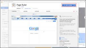 Page Ruler Google Chrome Extension For Pixel Perfect Web Ui Testing